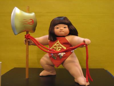 ケース入り人形・奉尚馬